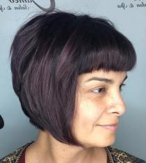 19 Chinlength Stacked Bob With Bangs